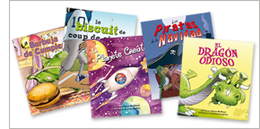 Little Heroes personalized children's books in French and Spanish
