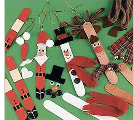 Kids holiday entertainment: Homemade holiday decorations