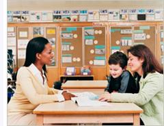 Parent meeting teacher