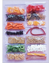 Homemade travel snack packs for kids